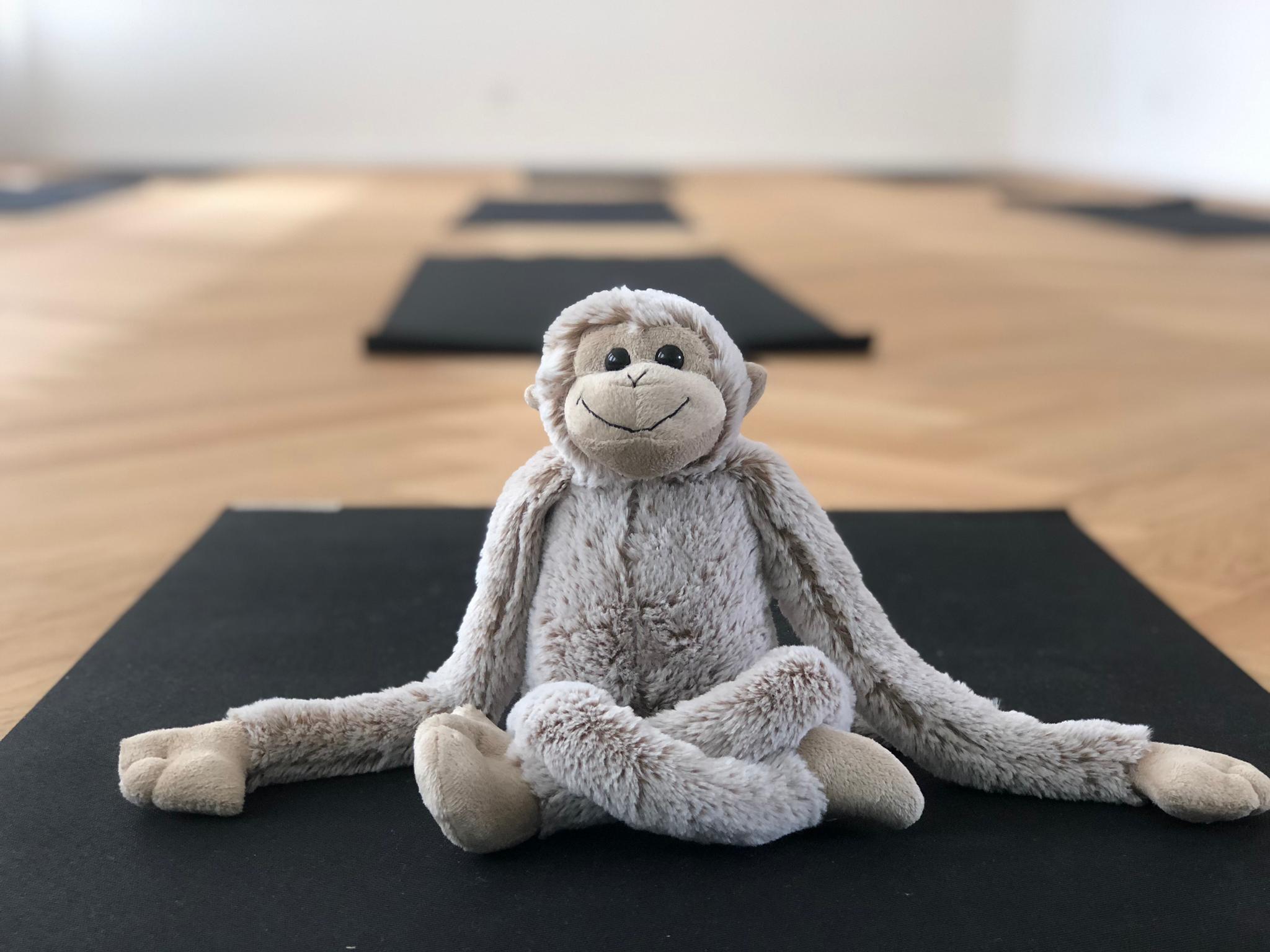 Hanuman Yoga Äffli auf Matte